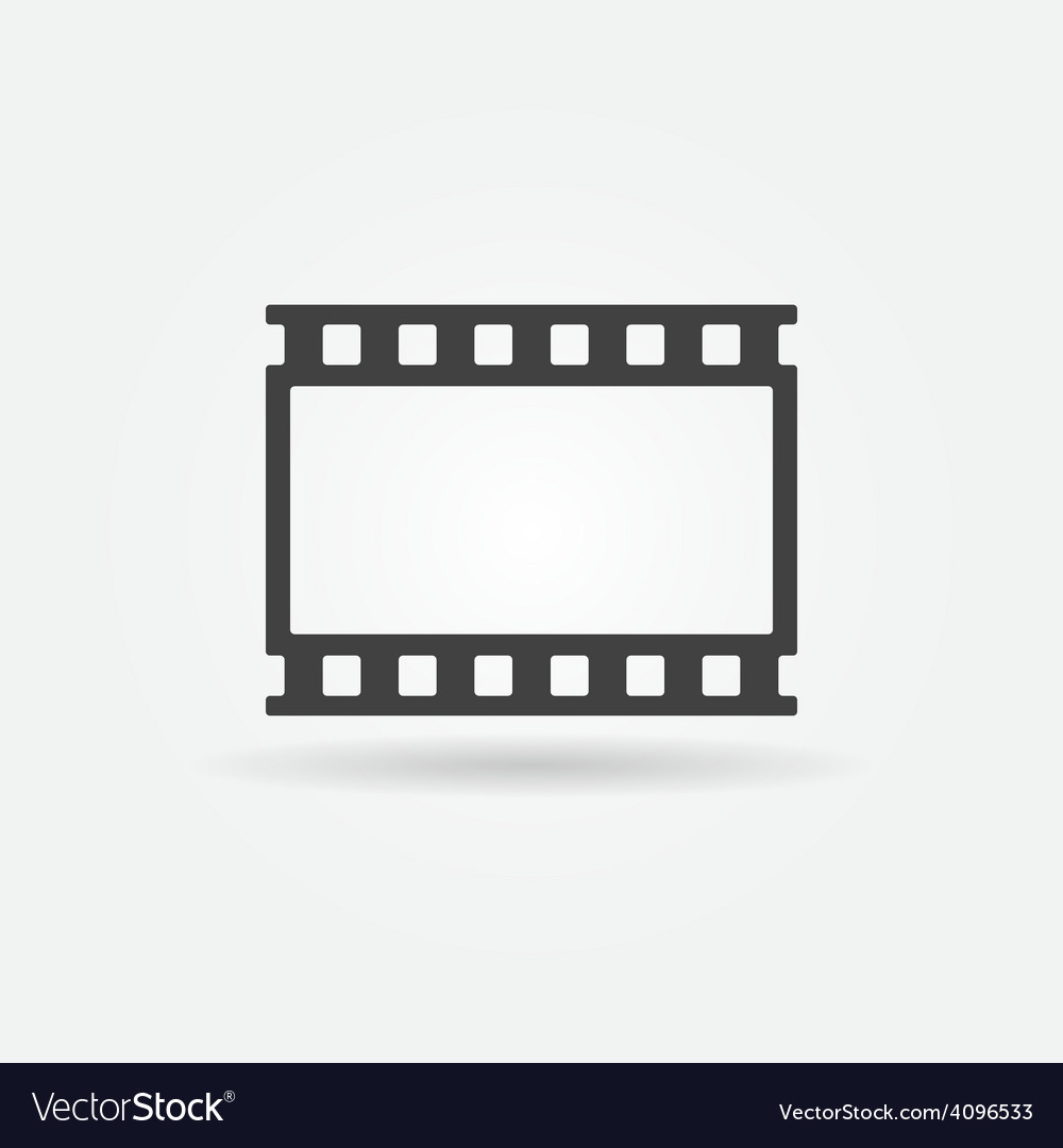 Film strip logo vector | Price: 1 Credit (USD $1)