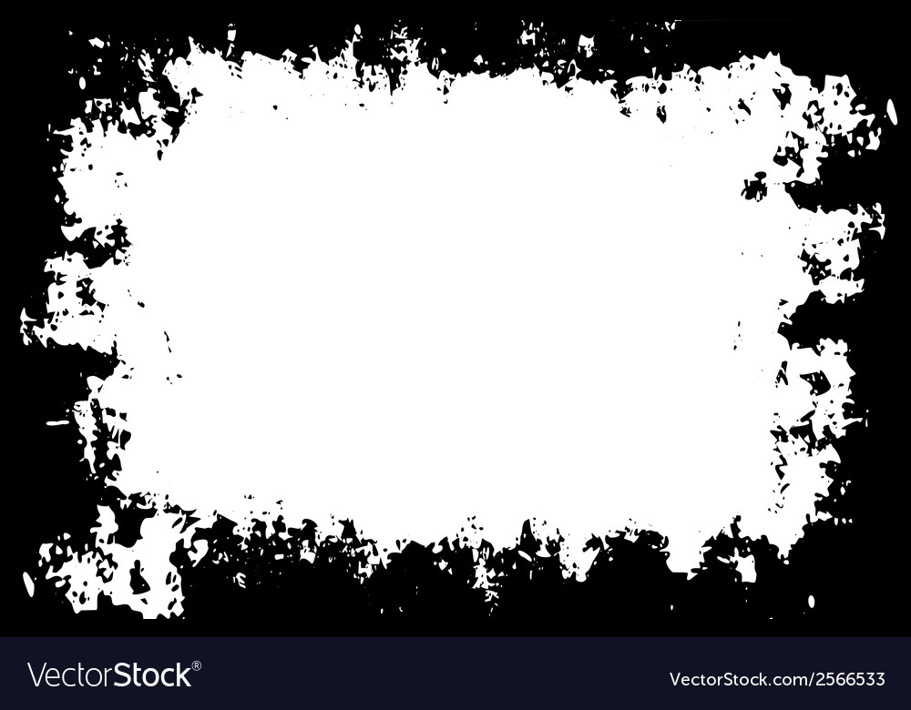 Grunge painted border for your designs vector | Price: 1 Credit (USD $1)