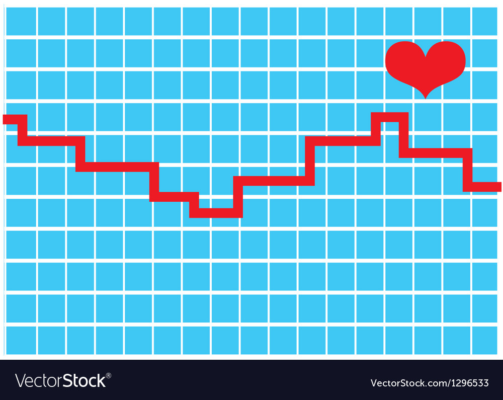 Heart monitor vector | Price: 1 Credit (USD $1)