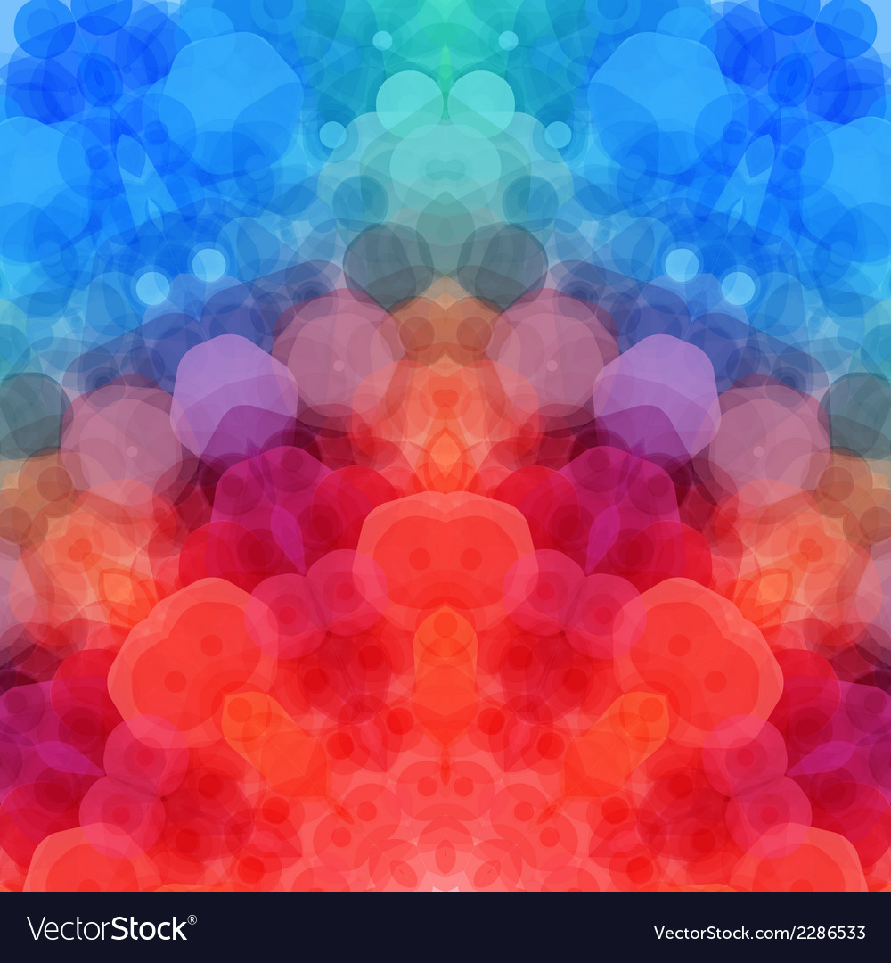 Retro pattern made of hexagonal shapes mosaic vector   Price: 1 Credit (USD $1)