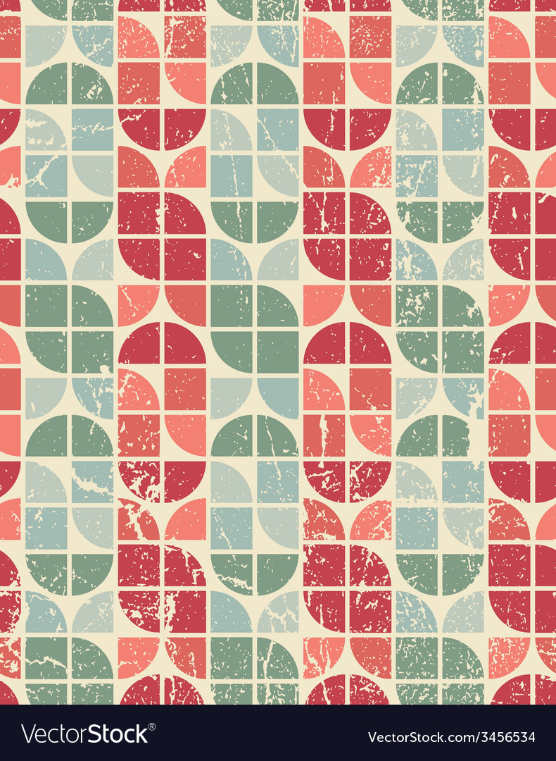 Colorful tattered textile geometric seamless vector | Price: 1 Credit (USD $1)