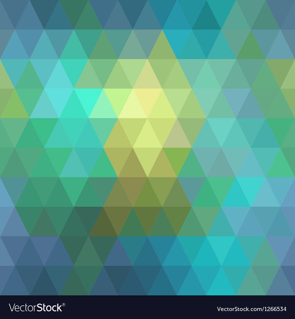 Seamless geometric background of triangles vector | Price: 1 Credit (USD $1)