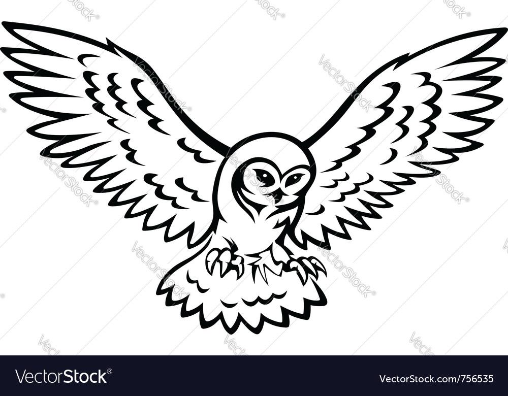 Owl vector | Price: 1 Credit (USD $1)