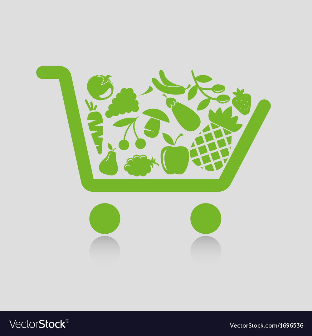 Shopping cart concepts vector | Price: 1 Credit (USD $1)