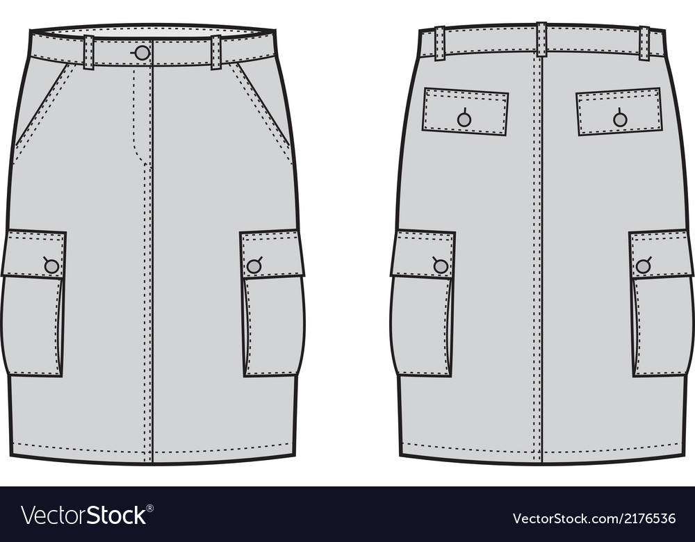 Sport skirt vector | Price: 1 Credit (USD $1)