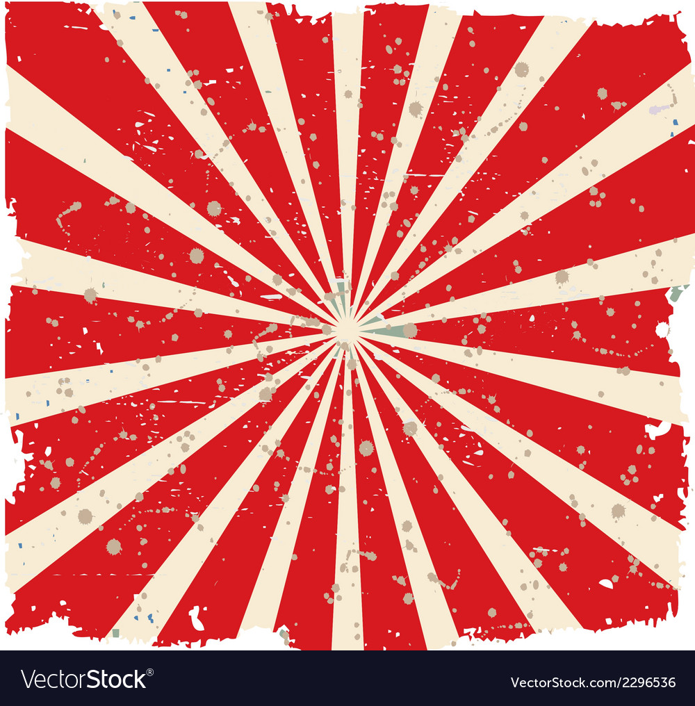 Vintage faded background retro red vector | Price: 1 Credit (USD $1)