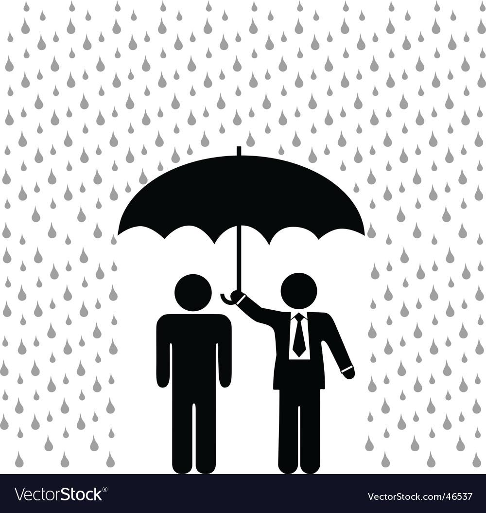 Insurance agent vector | Price: 1 Credit (USD $1)