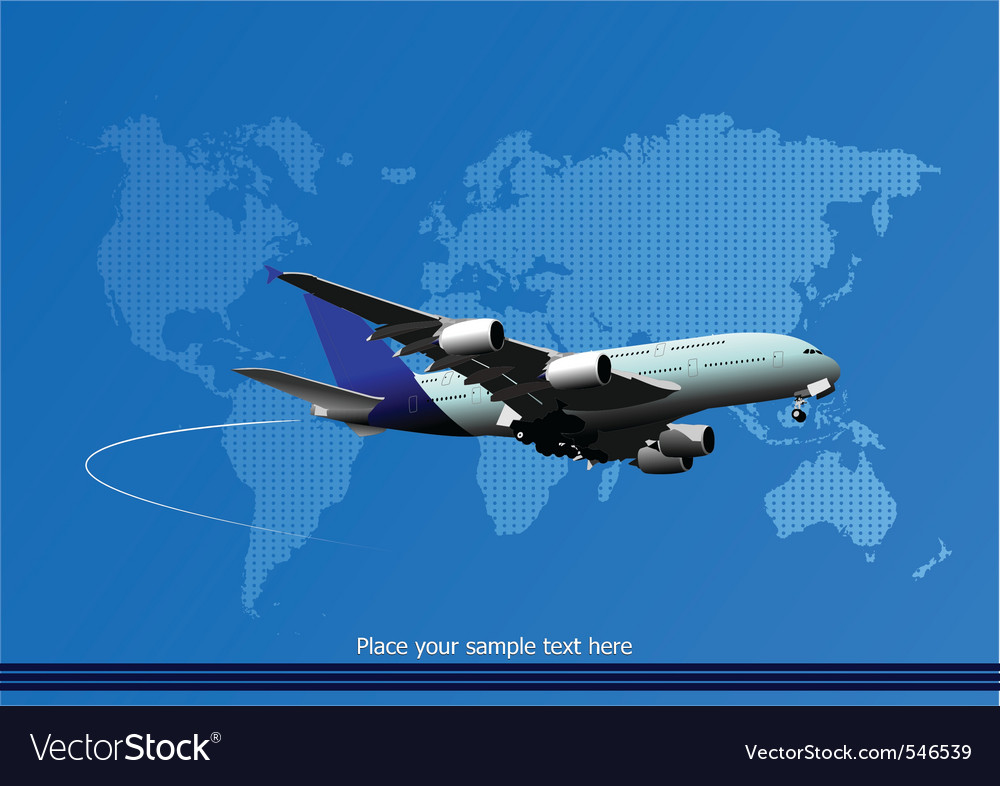 Airplane vector   Price: 1 Credit (USD $1)