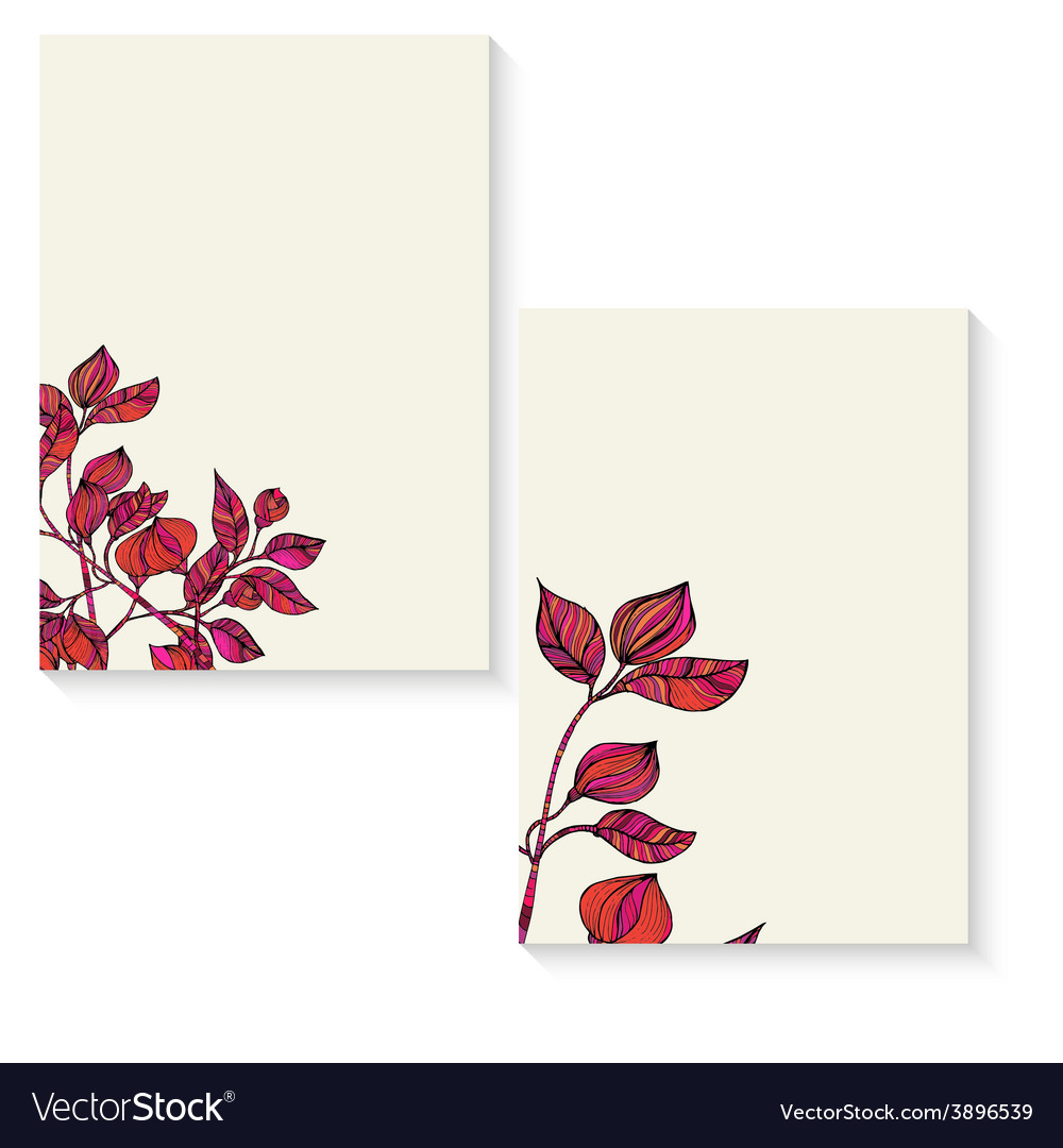 Banner floral ornament vector | Price: 1 Credit (USD $1)