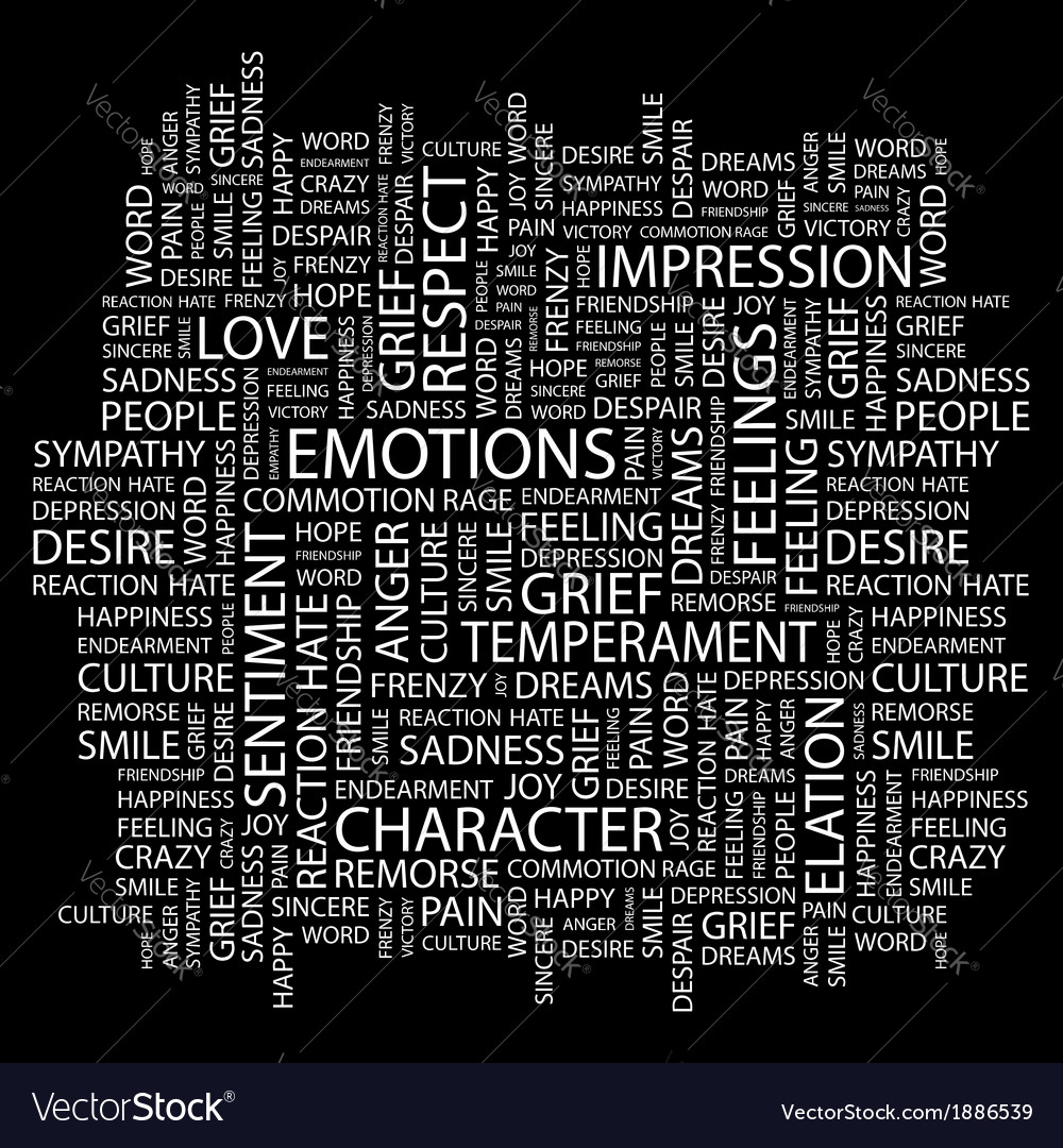 Emotions vector | Price: 1 Credit (USD $1)