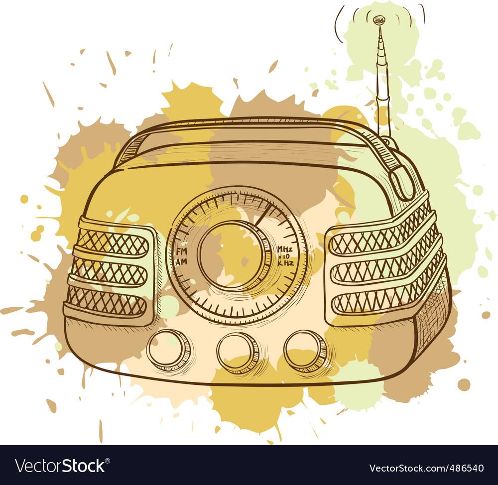 Radio vector | Price: 3 Credit (USD $3)
