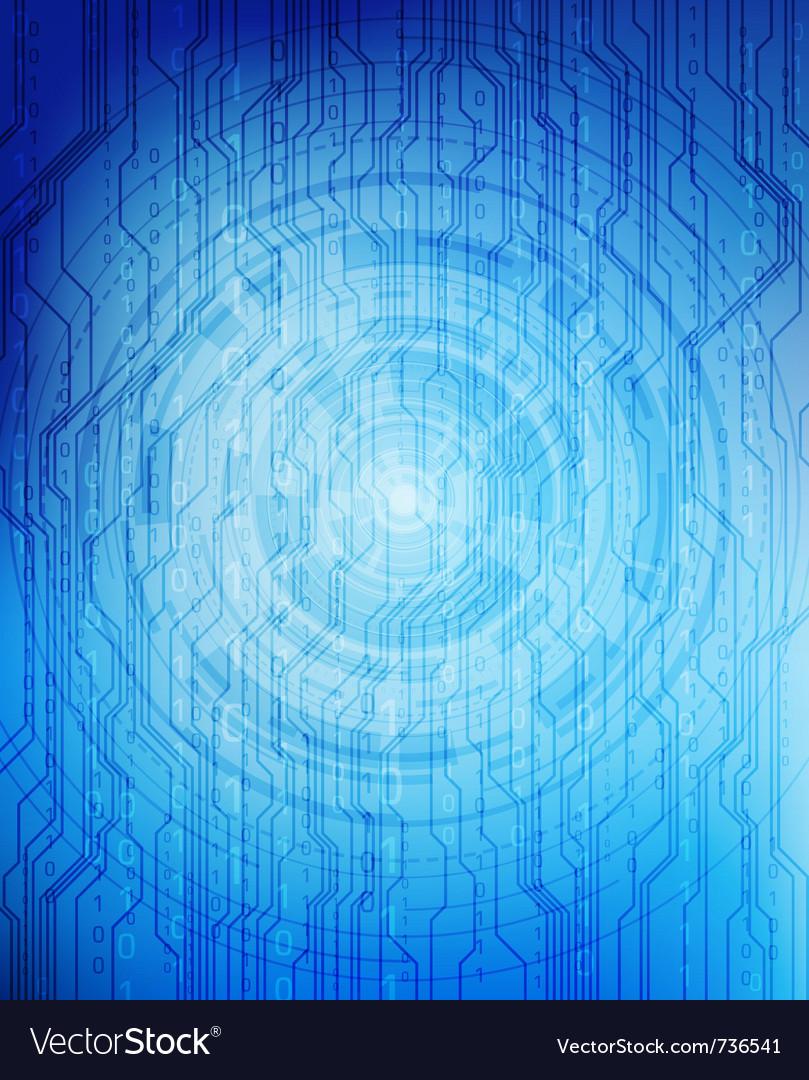 Futuristic background vector