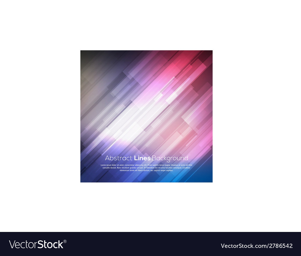 Colorful abstract lines business background vector | Price: 1 Credit (USD $1)