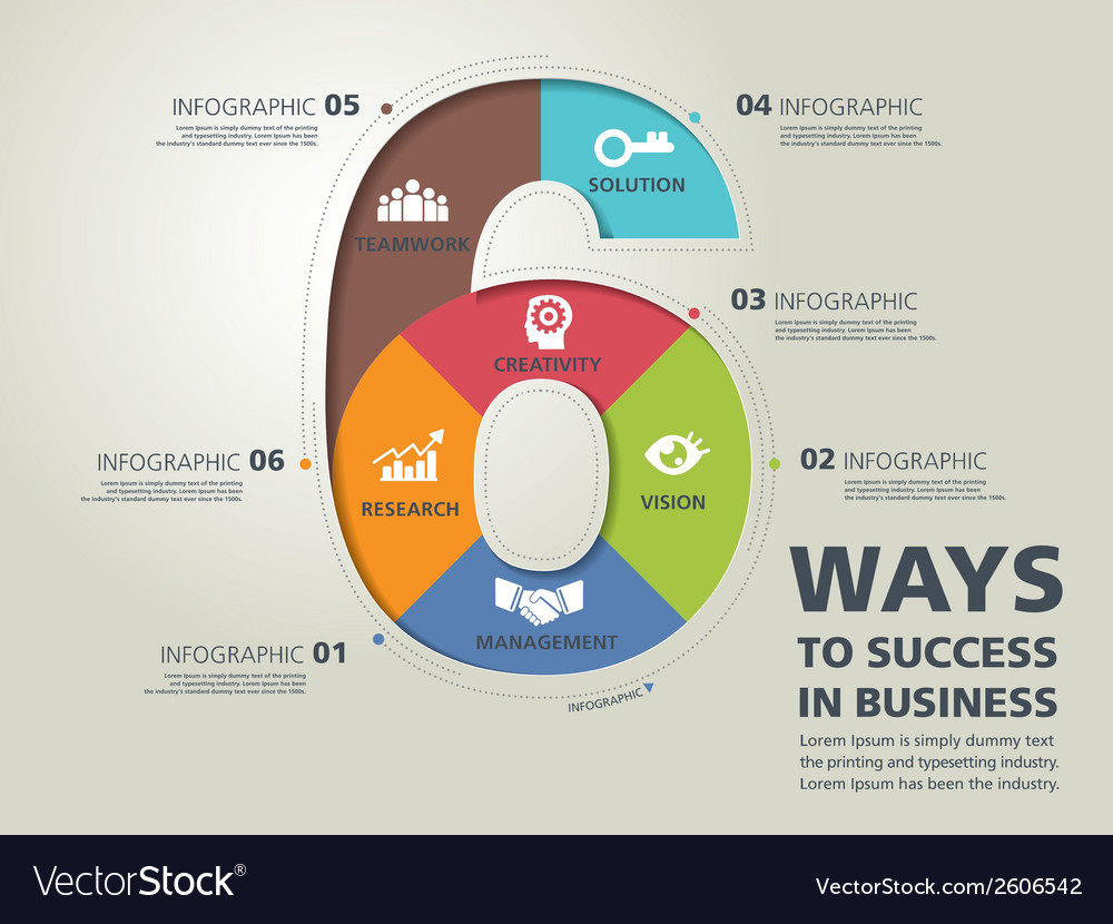Infographic typography 12 vector | Price: 1 Credit (USD $1)