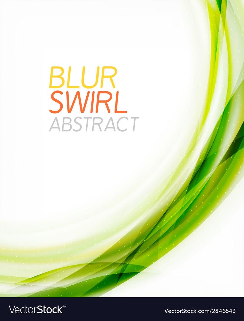 Business color swirl minimal design template vector | Price: 1 Credit (USD $1)