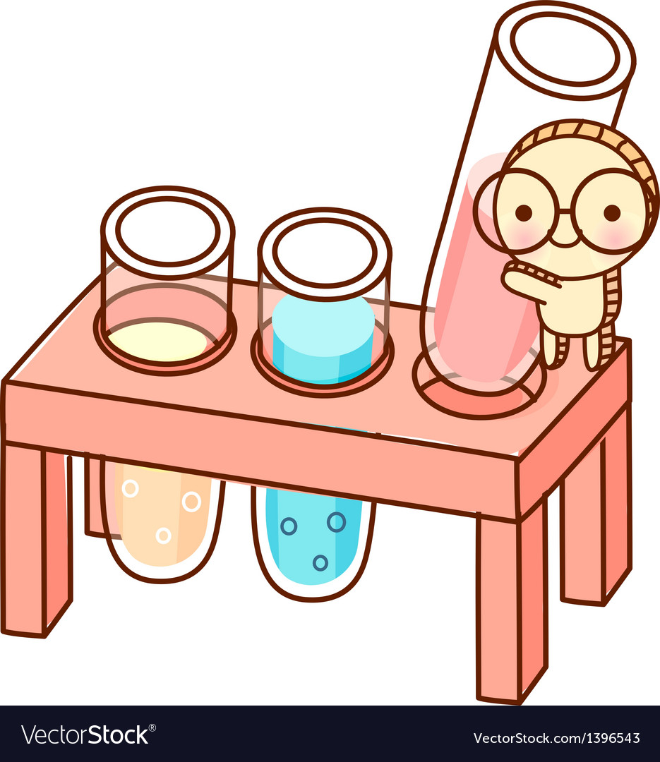 The test tube vector | Price: 1 Credit (USD $1)