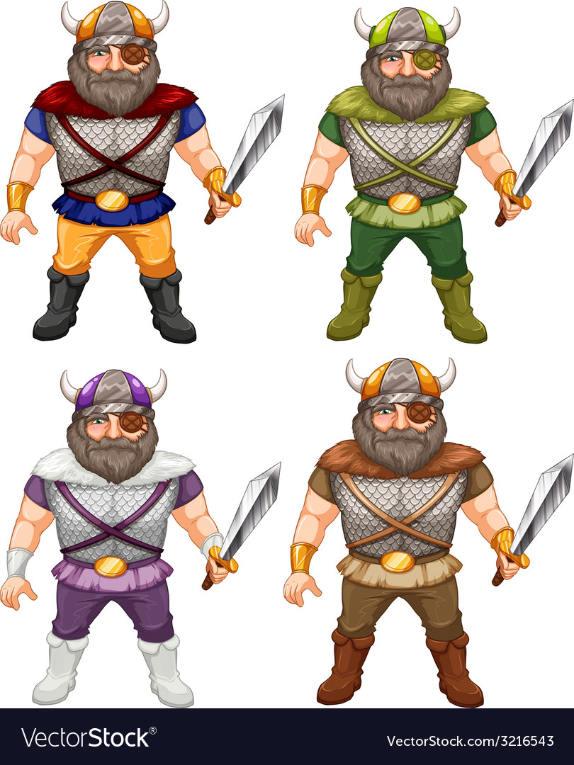 Vikings vector | Price: 3 Credit (USD $3)
