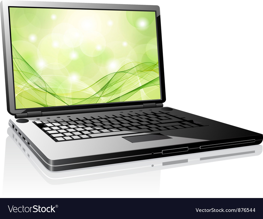 Laptop vector | Price: 3 Credit (USD $3)