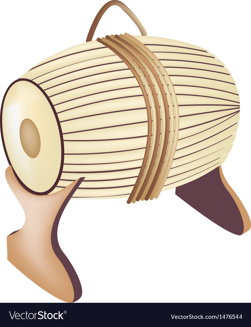Sampho drum background vector | Price: 1 Credit (USD $1)