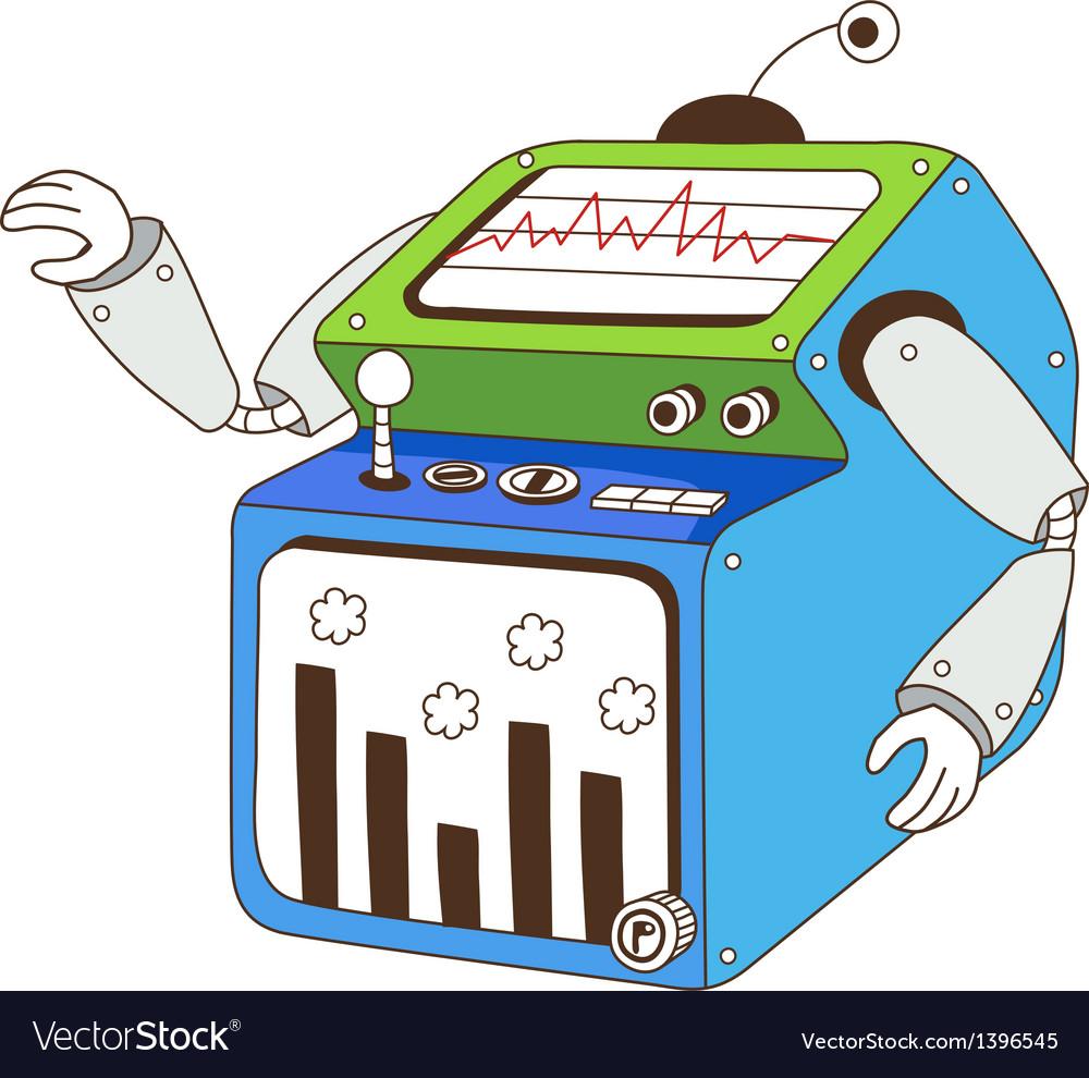 A machine vector | Price: 1 Credit (USD $1)