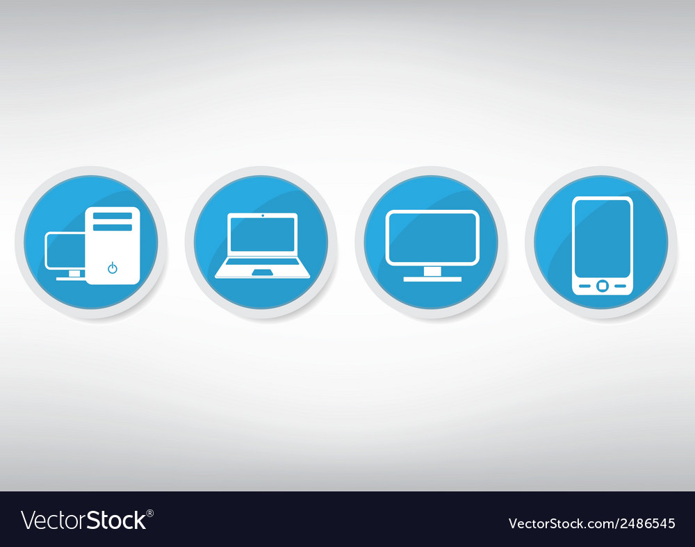 It icon set vector | Price: 1 Credit (USD $1)