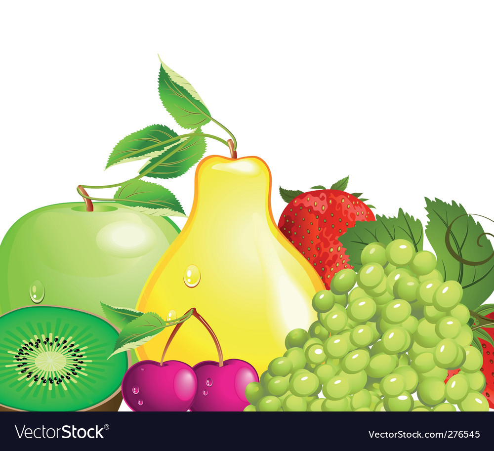 Juicy fruit vector | Price: 3 Credit (USD $3)