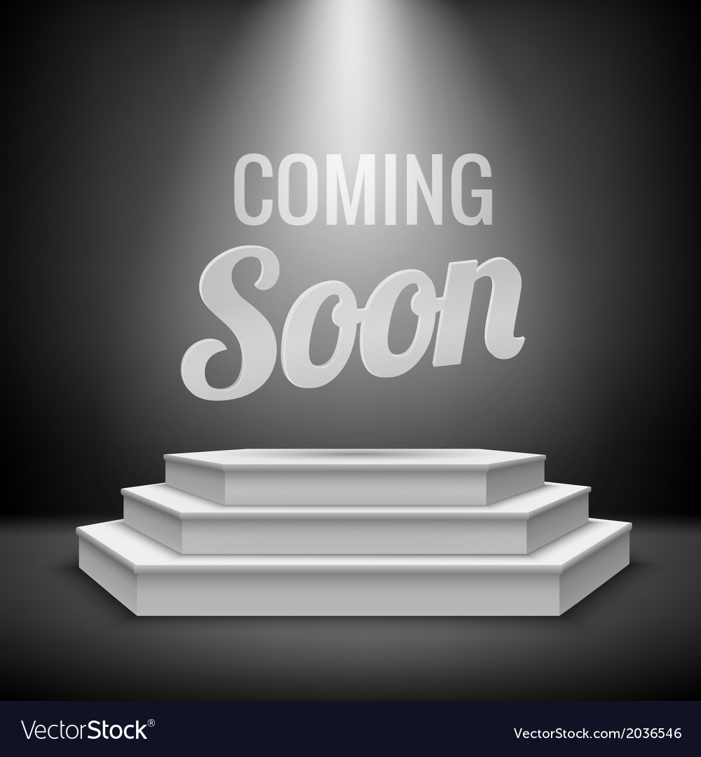 Coming soon concept background vector | Price: 1 Credit (USD $1)