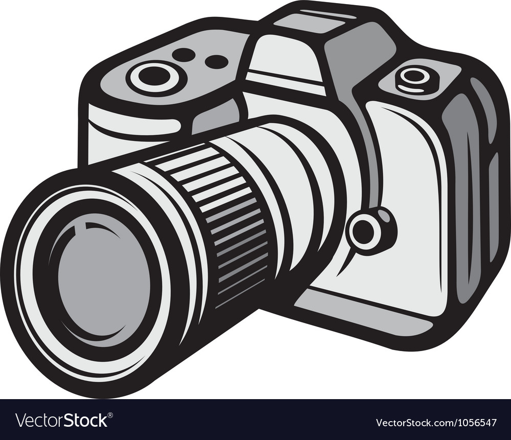 Compact digital camera vector | Price: 1 Credit (USD $1)