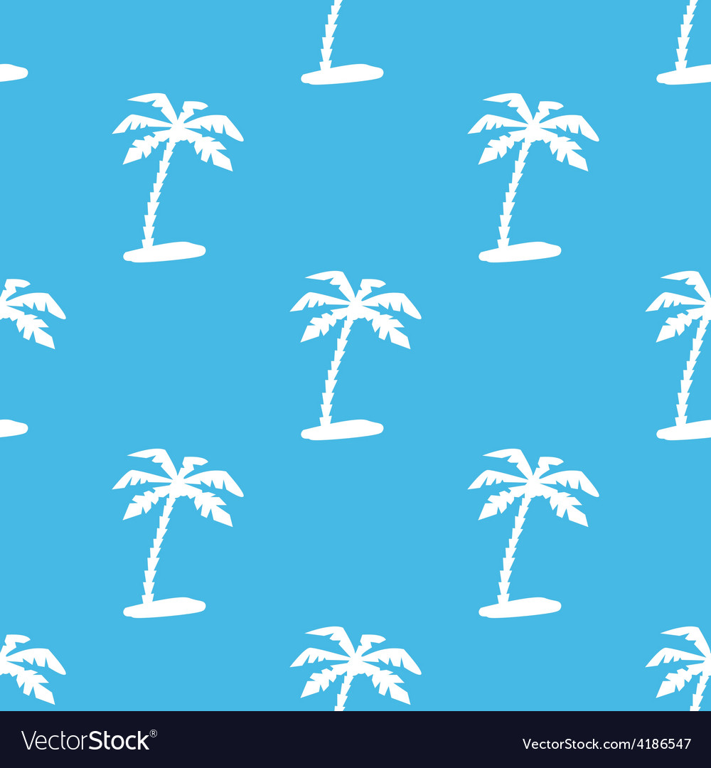 Island seamless pattern vector | Price: 1 Credit (USD $1)