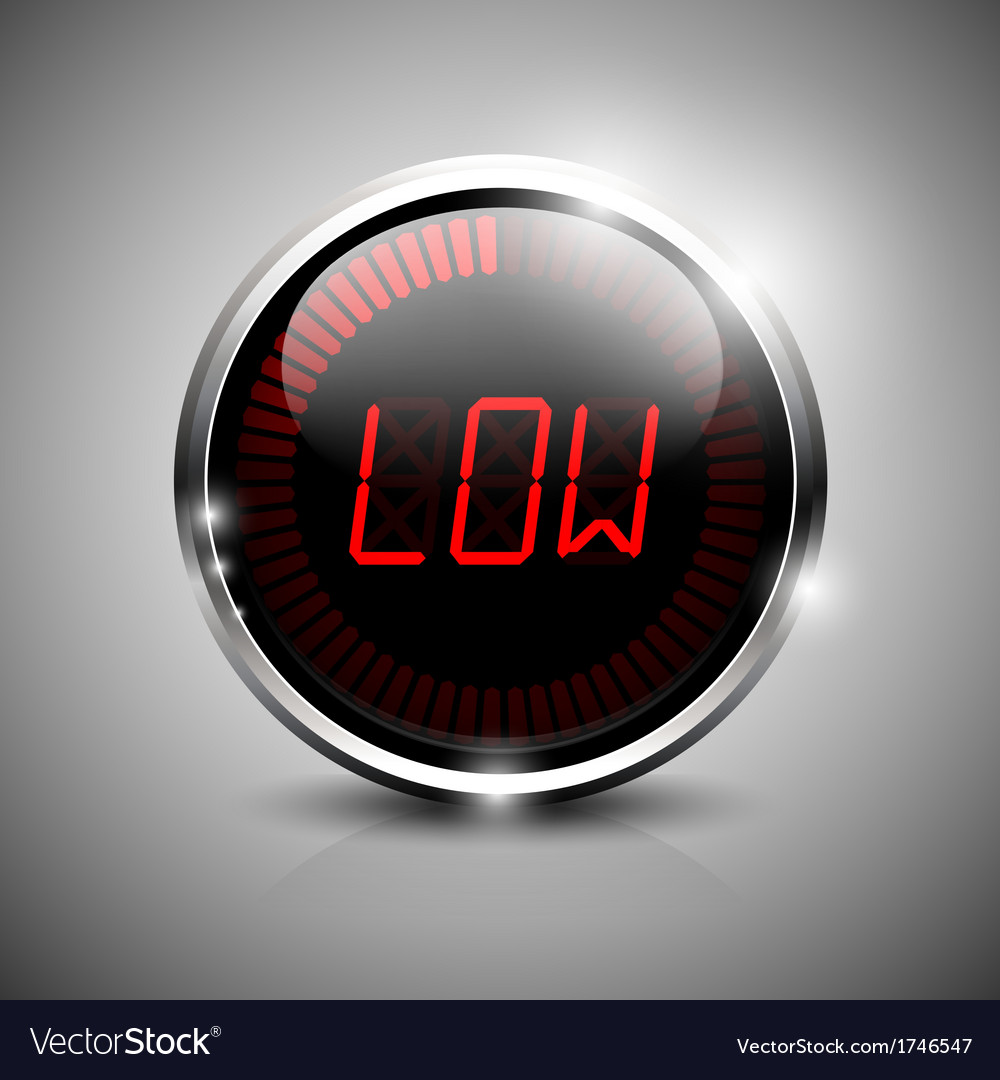 Low symbol vector | Price: 1 Credit (USD $1)