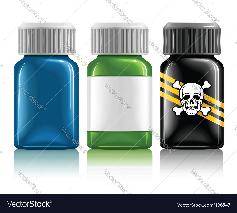 Medical bottles vector | Price: 3 Credit (USD $3)
