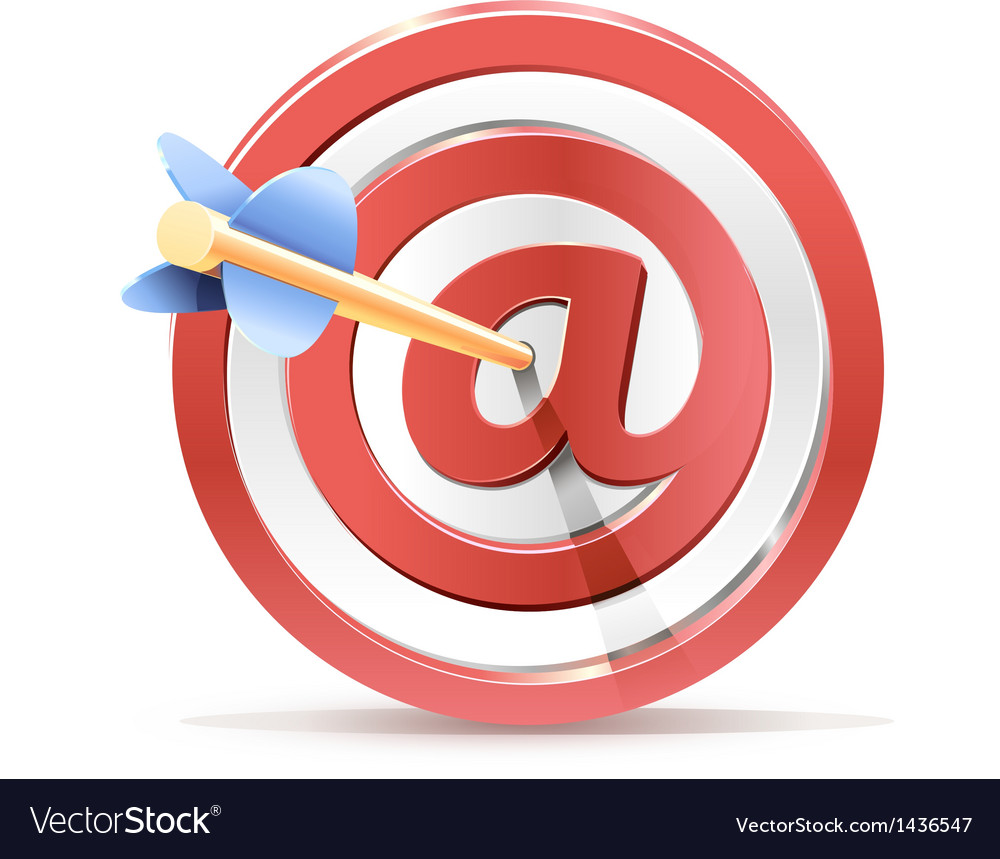 Red darts target aim and arrow successful shoot vector   Price: 1 Credit (USD $1)