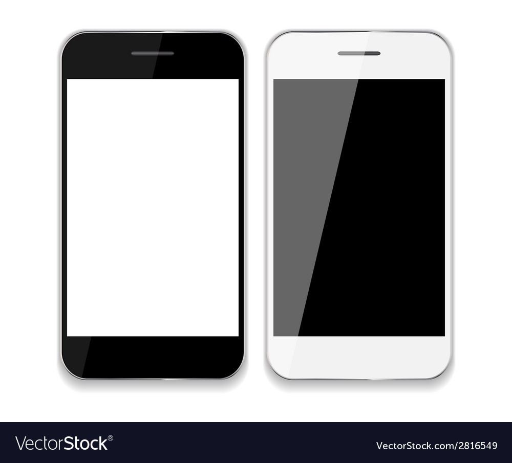 Abstract design mobile phones vector | Price: 1 Credit (USD $1)