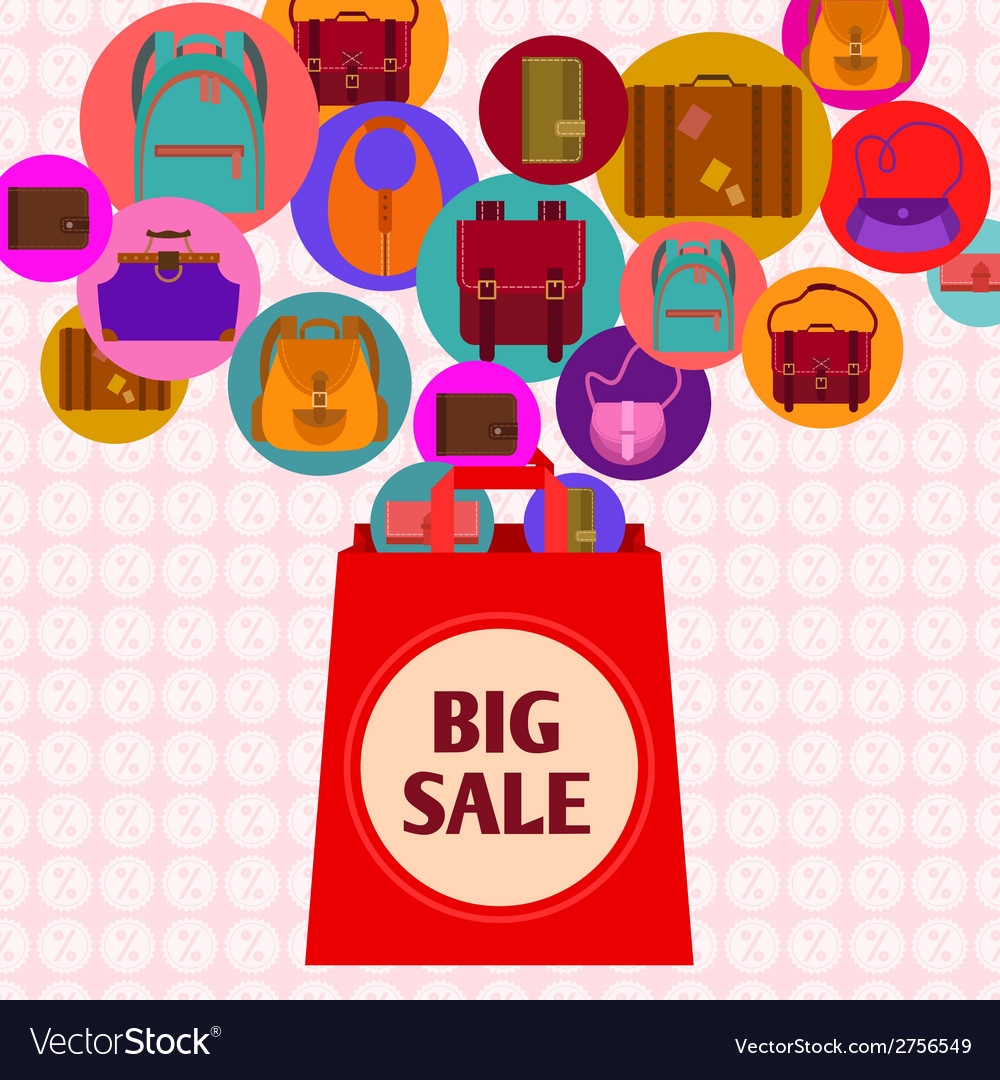 Big sale design vector | Price: 1 Credit (USD $1)