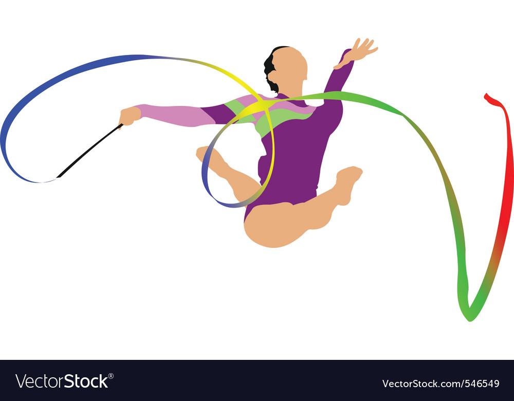 Gymnastics vector   Price: 1 Credit (USD $1)