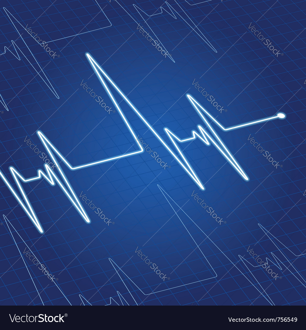 Heart pulse vector | Price: 1 Credit (USD $1)