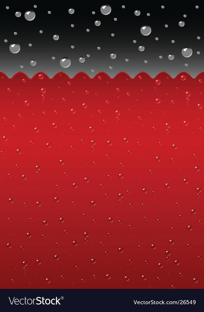 Sparkling red liquid background vector | Price: 1 Credit (USD $1)