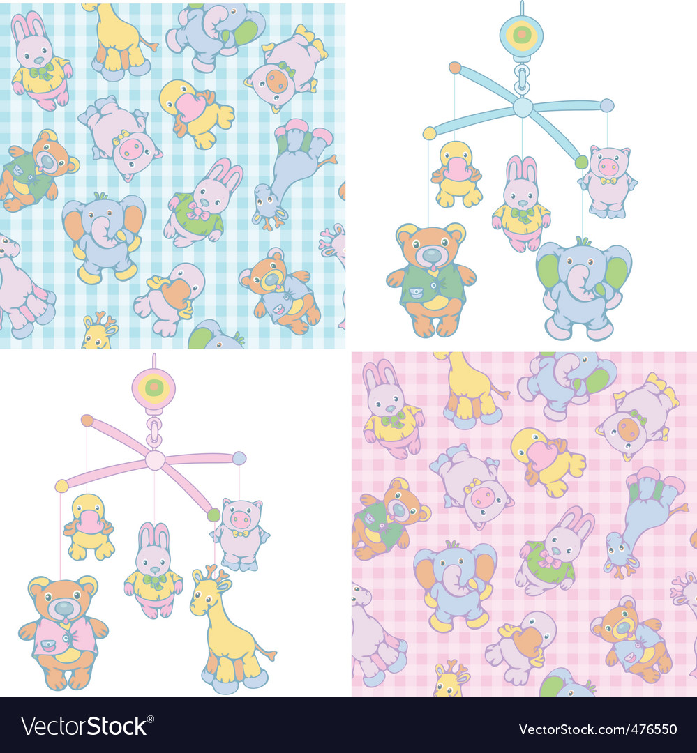 Baby's mobile vector | Price: 1 Credit (USD $1)