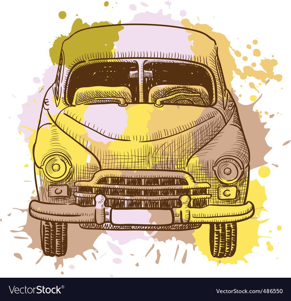 Car vector | Price: 3 Credit (USD $3)