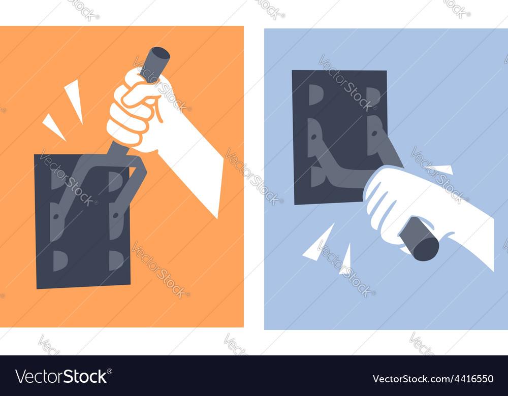 Contact breaker vector | Price: 1 Credit (USD $1)