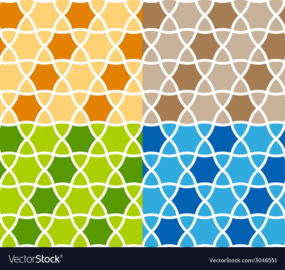 Abstract seamless ornamental background vector
