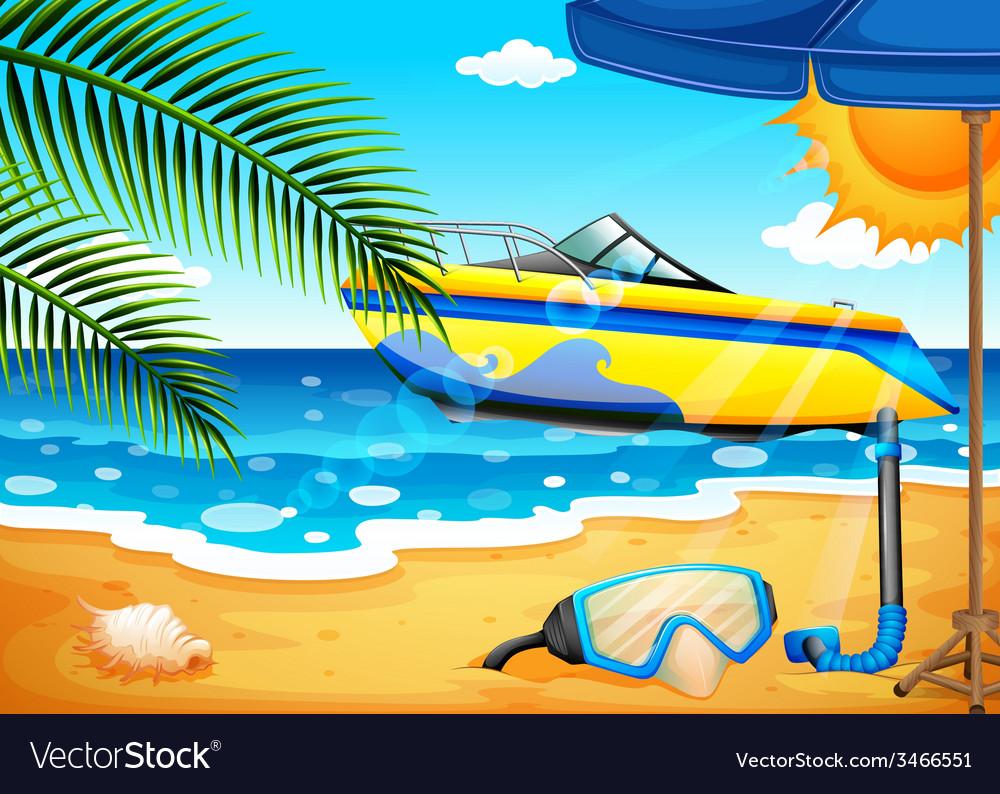Beach vector   Price: 3 Credit (USD $3)
