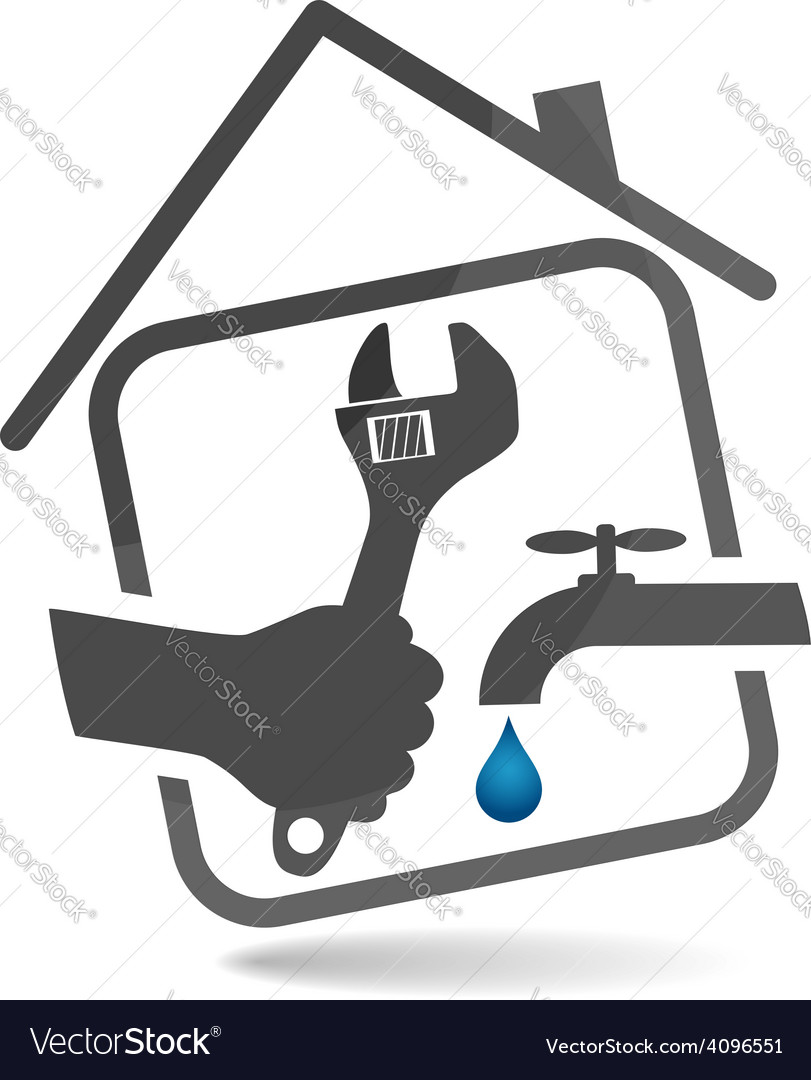 Plumbing service vector | Price: 1 Credit (USD $1)