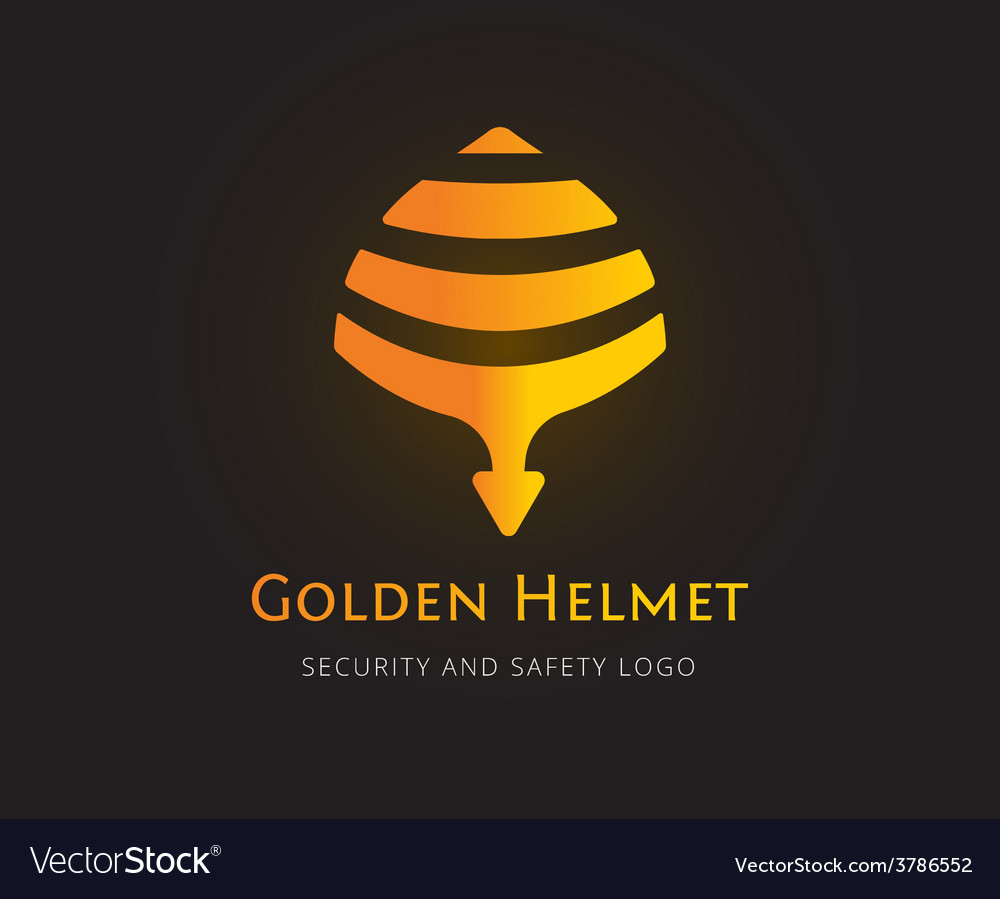 Abstract helmet logo template for branding vector | Price: 1 Credit (USD $1)