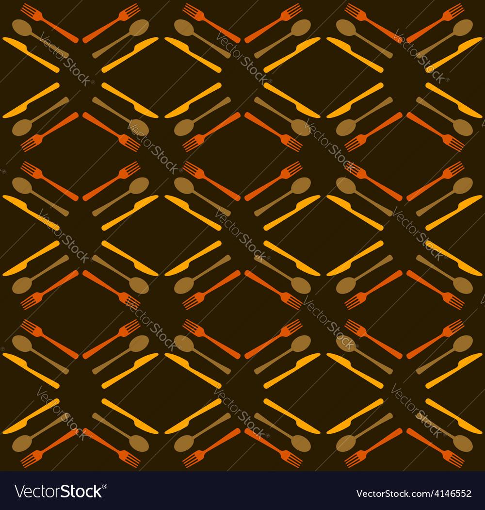 Restaurant seamless pattern background vector   Price: 1 Credit (USD $1)