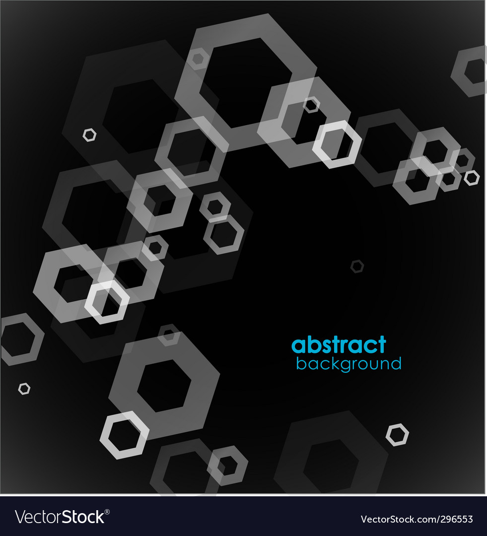 Abstract black and white background vector | Price: 1 Credit (USD $1)