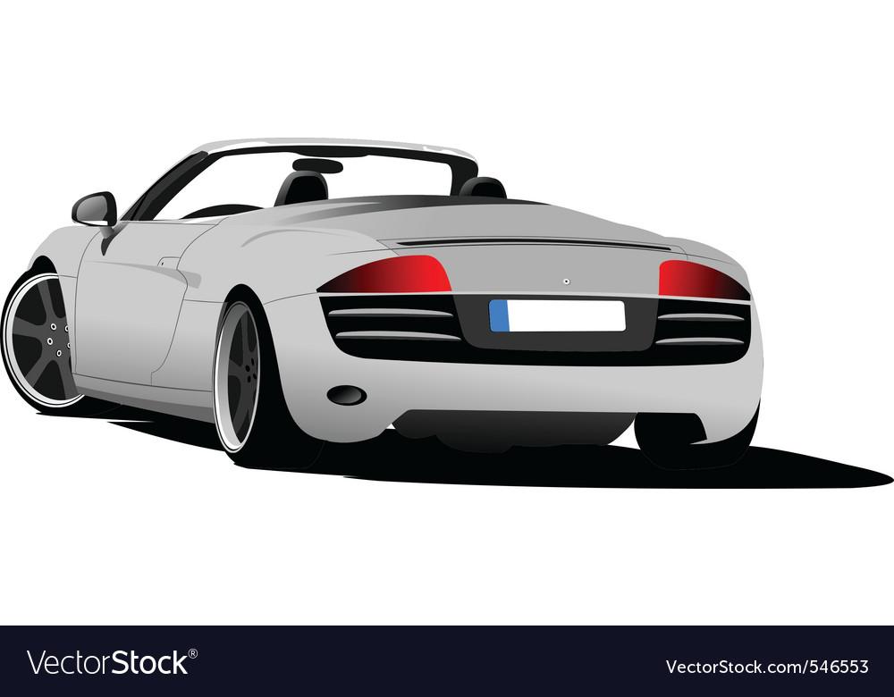 Luxury car vector | Price: 1 Credit (USD $1)