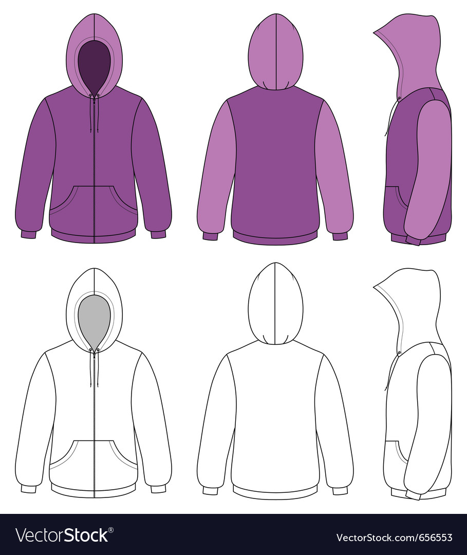 Unisex hoodie vector | Price: 1 Credit (USD $1)