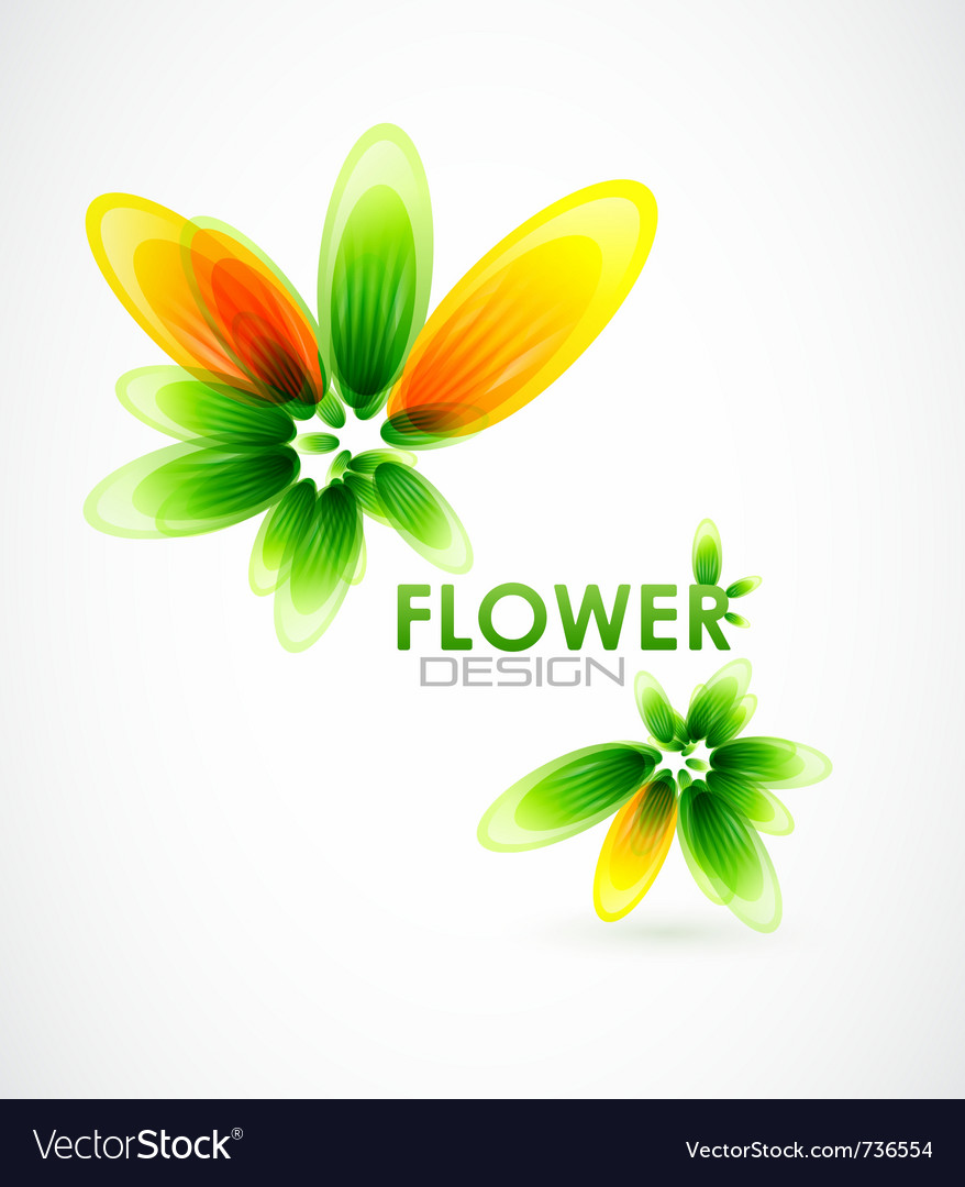 Abstract flower background vector   Price: 1 Credit (USD $1)