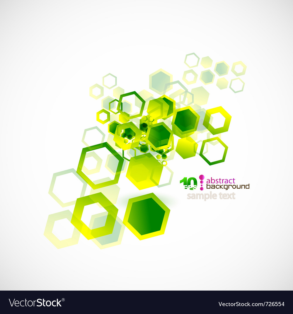 Abstract shapes background vector | Price: 1 Credit (USD $1)